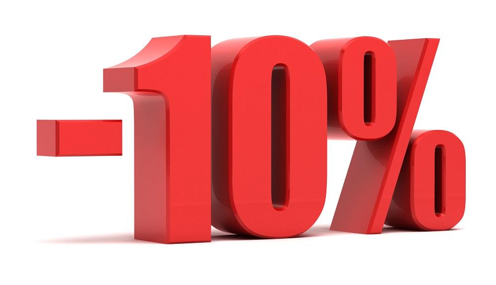 10 procent bonifikaty